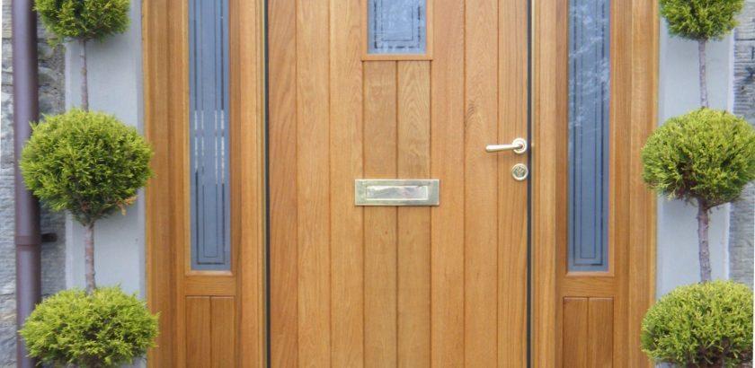 La porte d entr e l l ment qui habille et s curise la maison porte et compagnie - Porte d entree qui ferme mal ...